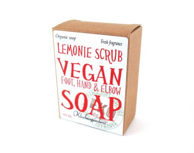 vegan soap tvål scrub